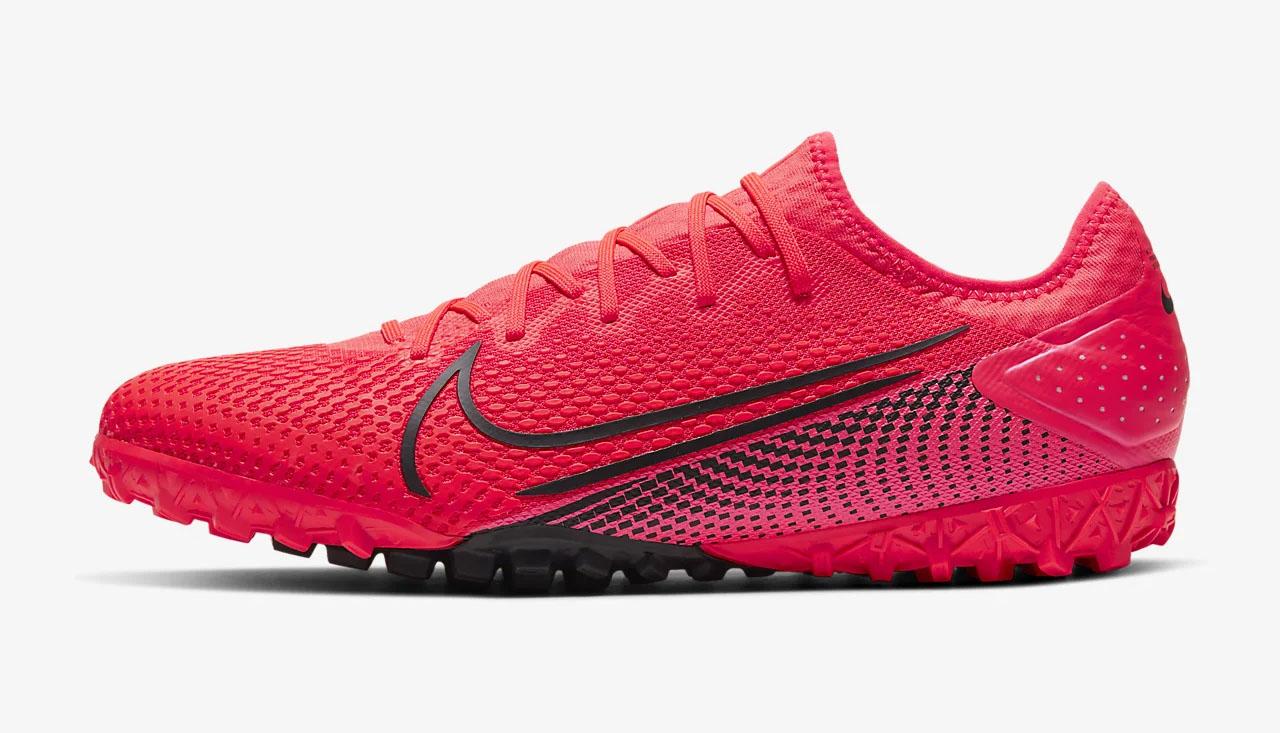 Giày bóng đá Nike Mercurial Vapor 13 Pro TF làm bằng da vải sợi dệt