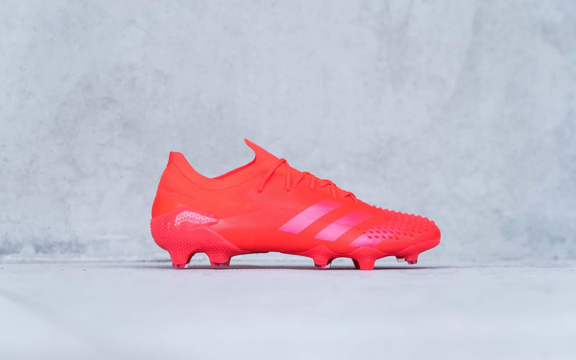 Giày bóng đá Adidas Predator 20.1 FG bản cổ thấp màu cam Locality Pack