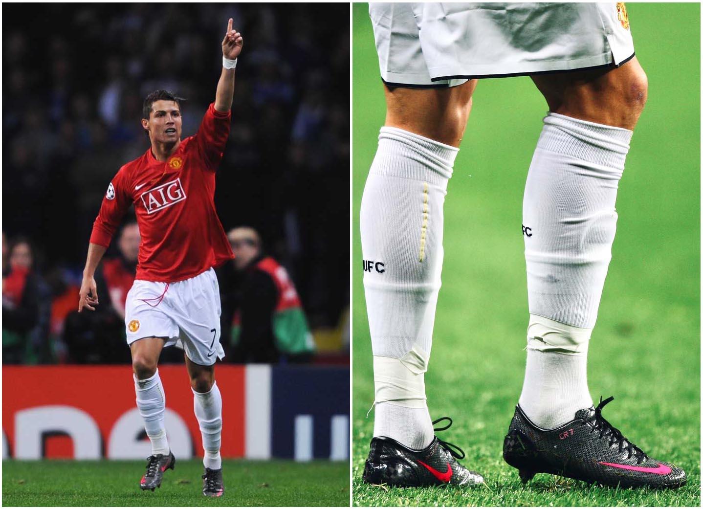 Ronaldo CR7 thời kỳ bắt đầu tỏa sáng tại Manchester United