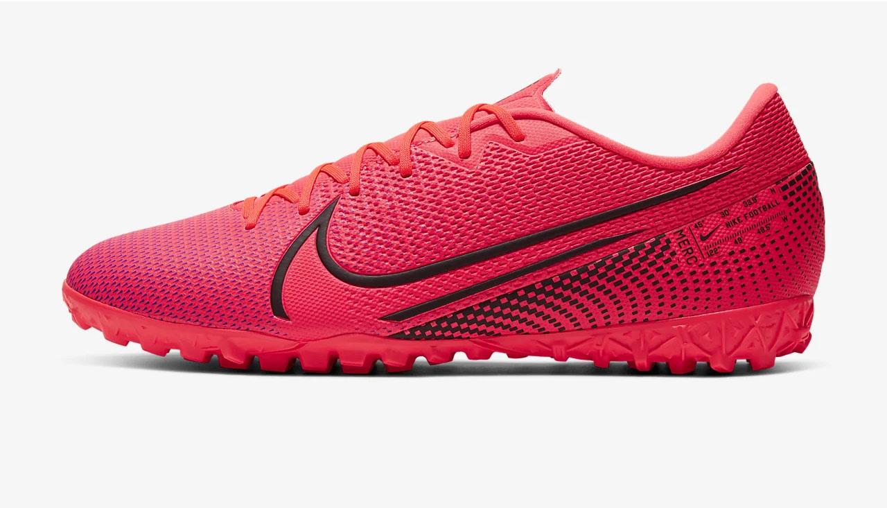 Giày Nike Mercurial Vapor 13 Academy TF với da nhân tạo synthetic