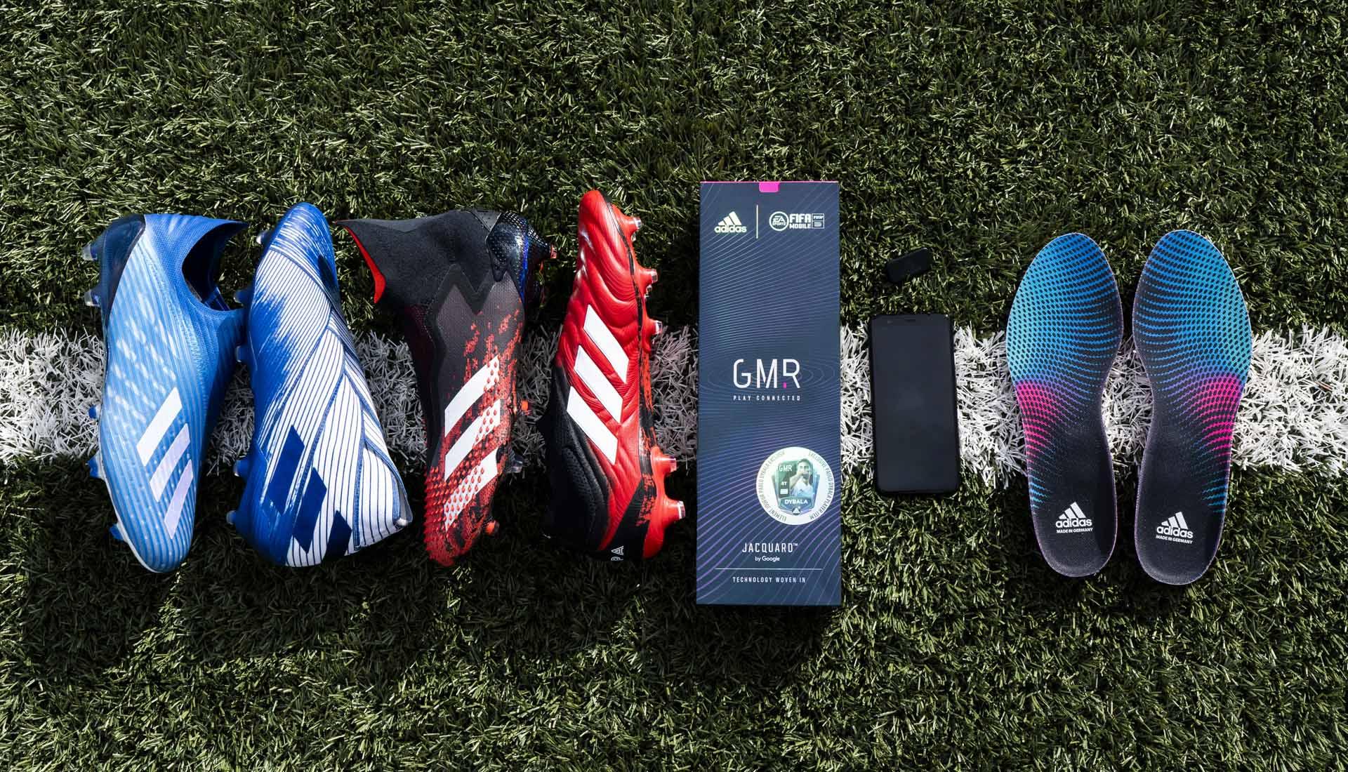 Adidas đã sản xuất phiên bản không dây cho tất cả các dòng giày đá bóng của mình