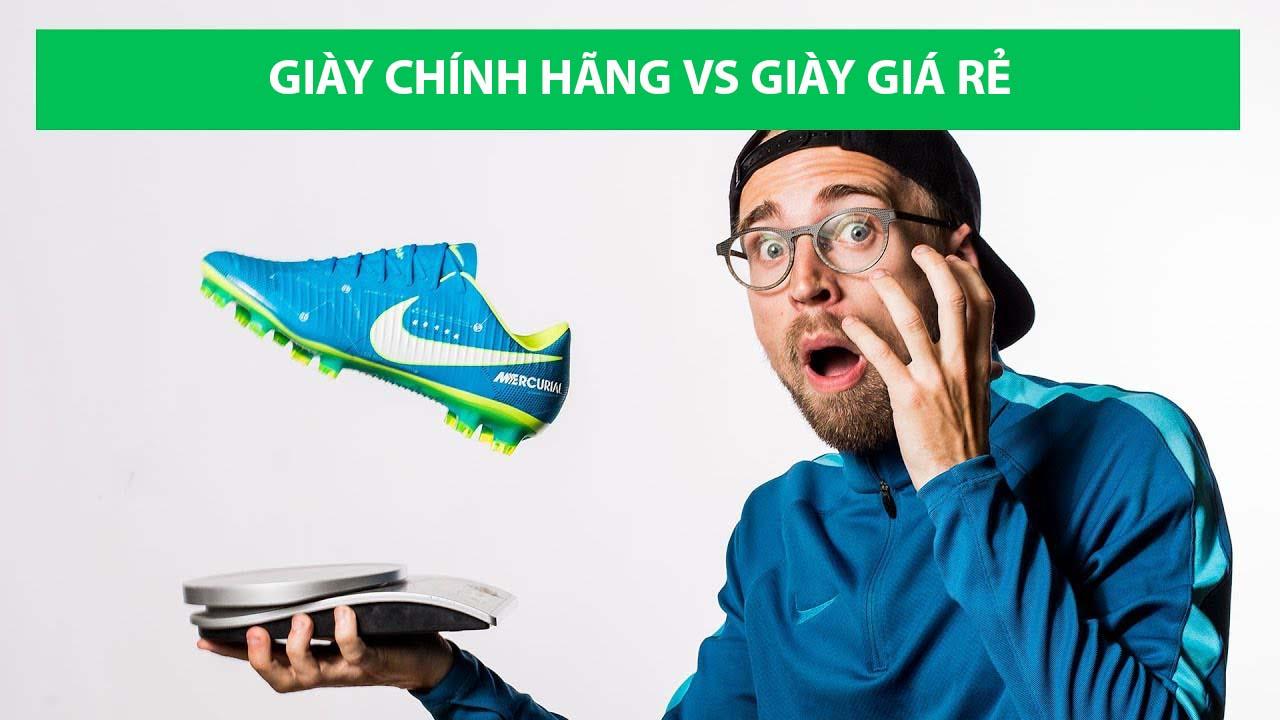 Giày bóng đá 500k và 5tr sẽ có nhiều sự khác nhau với mức giá quá chênh lệch