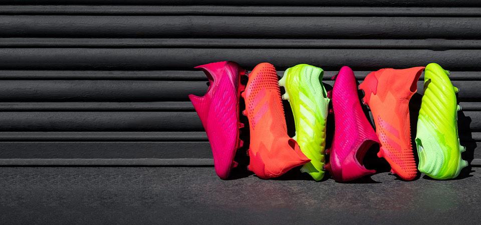 Bộ sưu tập giày đá bóng Adidas Locality pack với nhiều gam màu nổi bật đẹp mắt