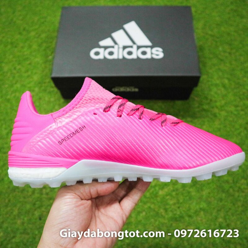 Giay adidas x19.1 tf hong vach xam (1)