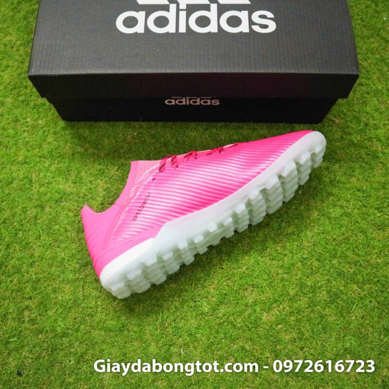 Giay adidas x19.1 tf hong vach xam (10)
