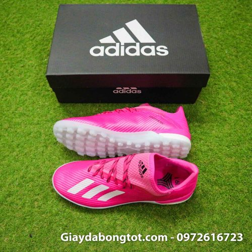 Giay adidas x19.1 tf hong vach xam (2)