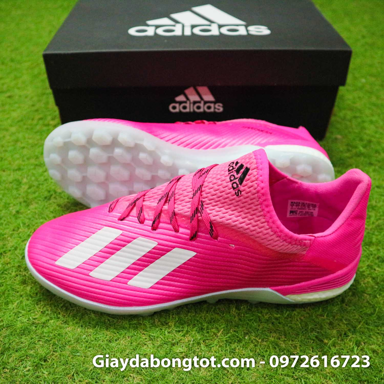 Giay adidas x19.1 tf hong vach xam (3)