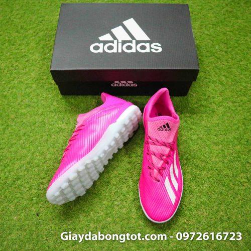 Giay adidas x19.1 tf hong vach xam (5)