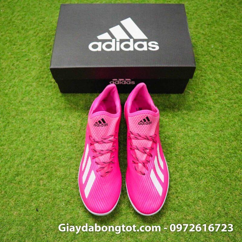 Giay adidas x19.1 tf hong vach xam (7)