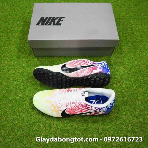 Giay bong da Neymar Nike Mercurial Vapor 13 TF vang do xanh (2)