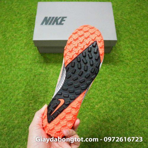 Giay da banh da vai Nike Mercurial Vapor 13 Pro tf trang vach cam (1)