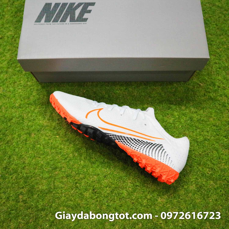 Giay da banh da vai Nike Mercurial Vapor 13 Pro tf trang vach cam (11)