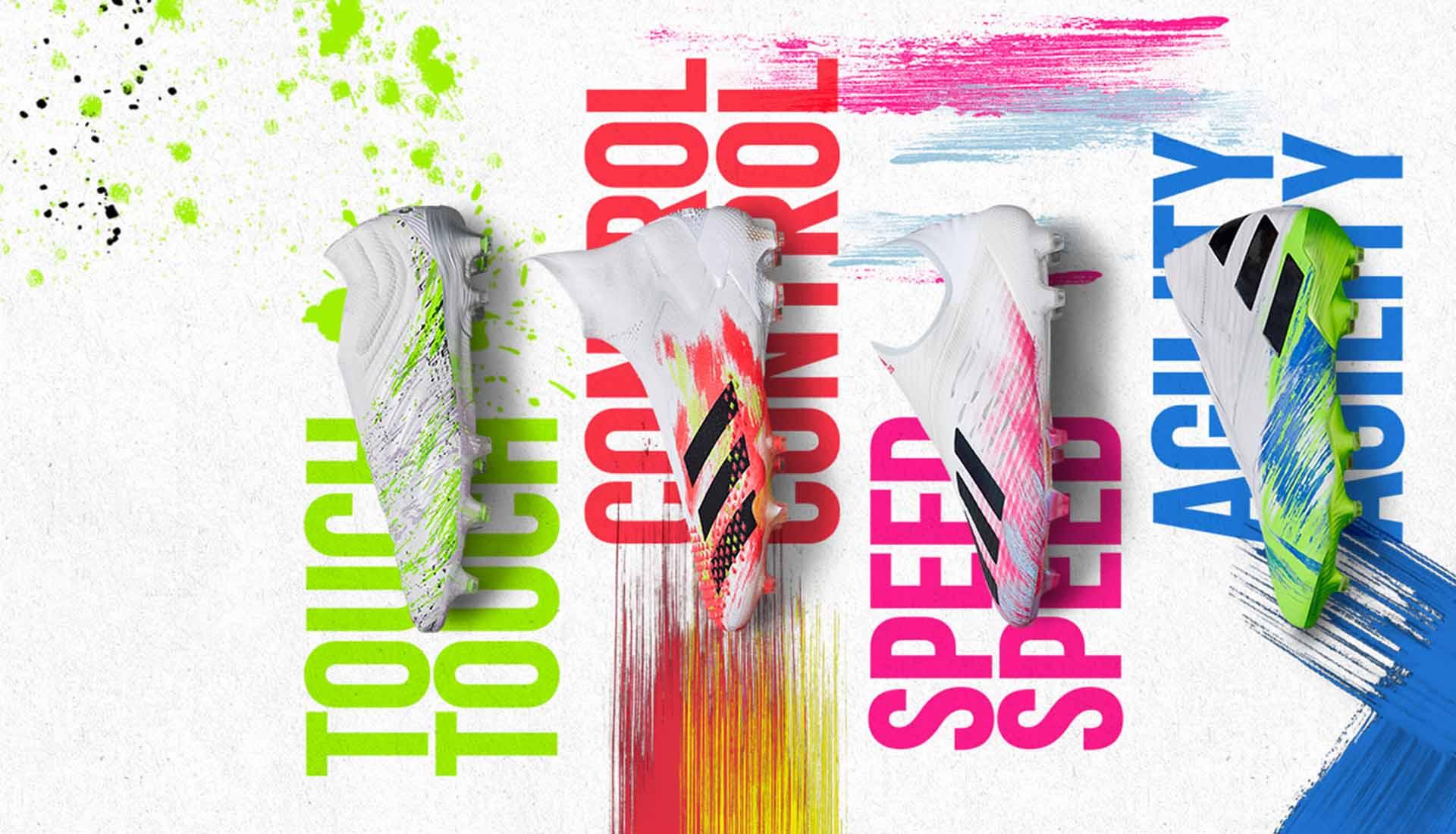 Adidas chuẩn bị bộ sưu tập giày đá banh Uniforia Pack cho Euro 2020