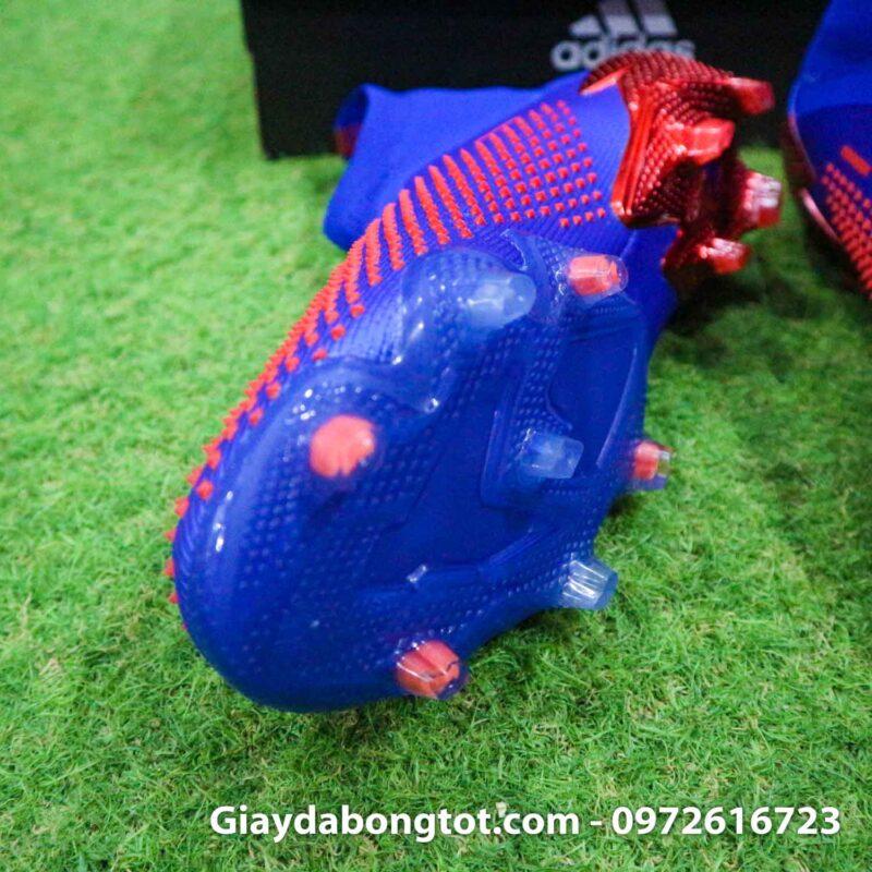 Giay da bong Adidas Predator 20 gai nhon mau xanh duong vach trang (6)