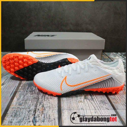 Giày Nike Mercurial Vapor 13 Pro TF | Trắng vạch cam bản SF