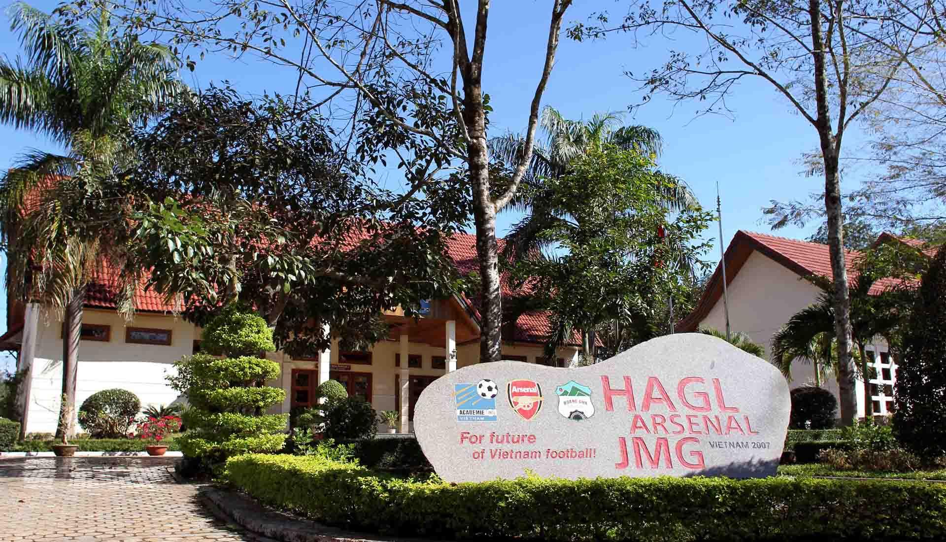 Học viện bóng đá Hoàng Anh Gia Lai Arsenal JMG của câu lạc bộ Hoàng Anh Gia Lai