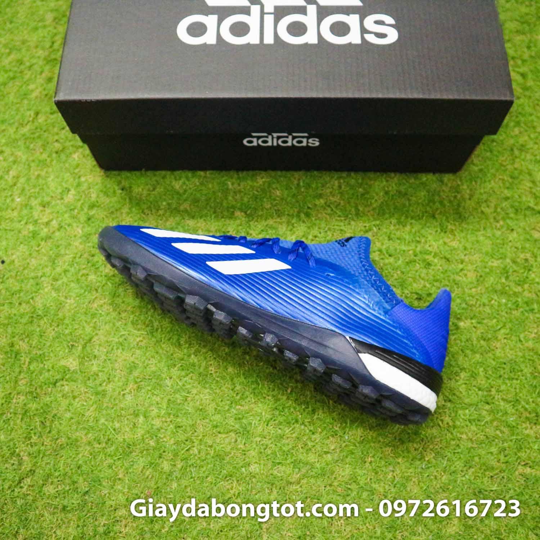 Giay bong da adidas x 19 1 xanh duong dam vach trang (10)