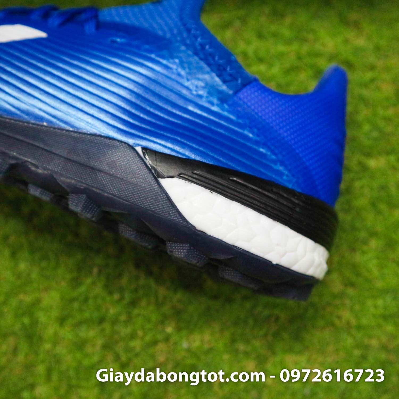 Giay bong da adidas x 19 1 xanh duong dam vach trang (11)