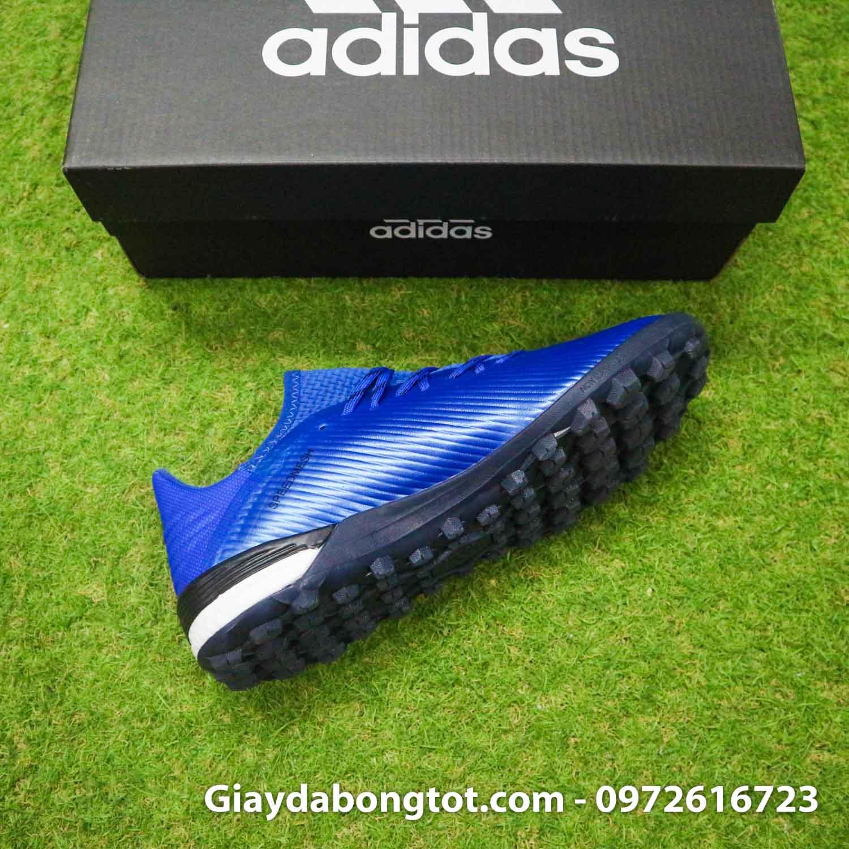 Giay bong da adidas x 19 1 xanh duong dam vach trang (12)