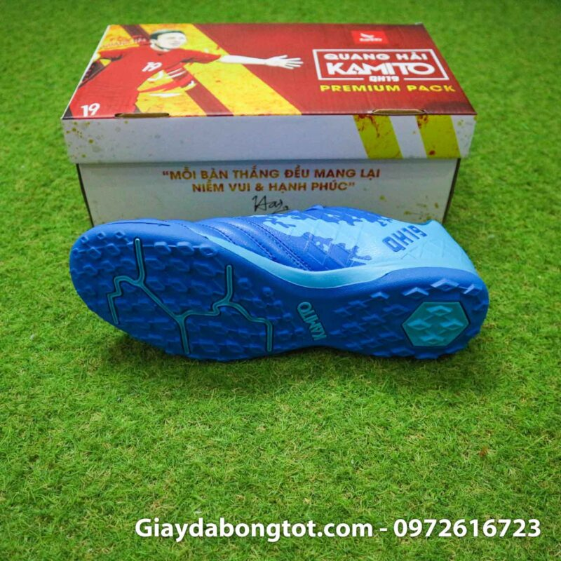Giay da bong kamito qh19 premium pack xanh nhat quang hai (3)