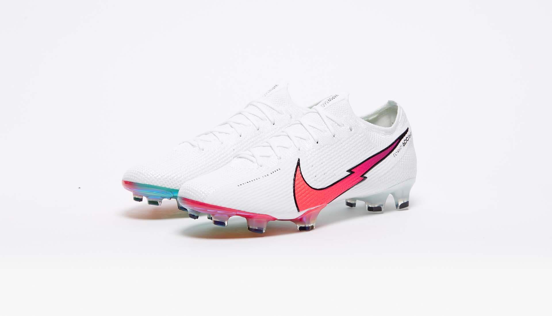 Gam màu mới nhất của Nike Mercurial tháng 9, 2020 là màu trắng vạch đỏ