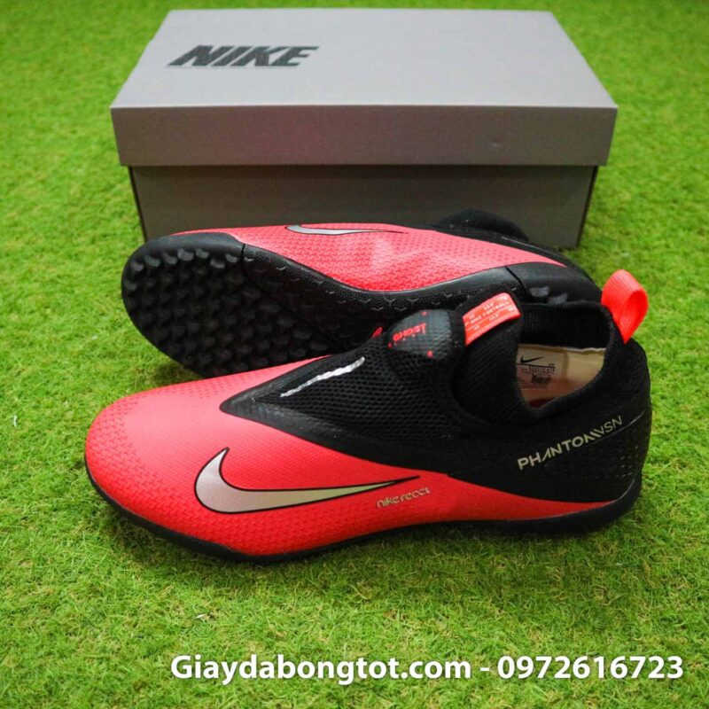 Giay nike phantom vsn 2 pro tf do den sf chat luong (2)
