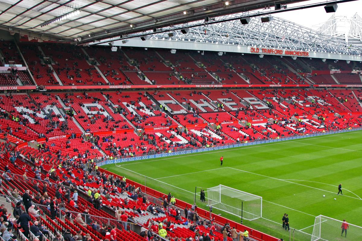 Sân nhà của MU sẽ được nhuộm màu đỏ khi có các trận đấu trên sân nhà