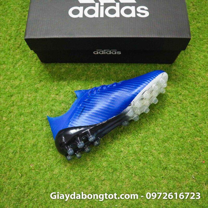 Giay adidas x19.1 ag xanh duong vach trang (10)