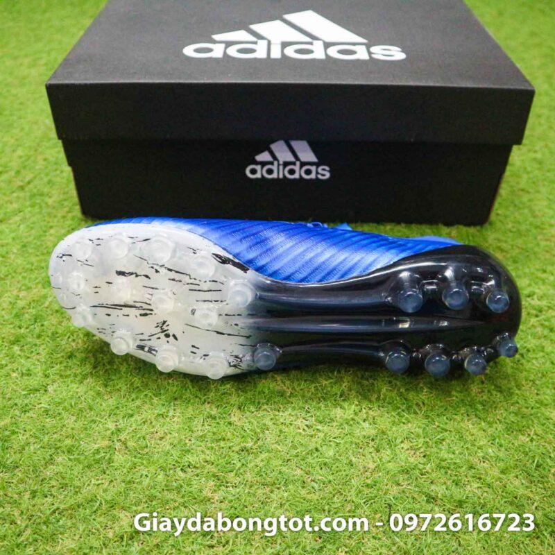 Giay adidas x19.1 ag xanh duong vach trang (3)