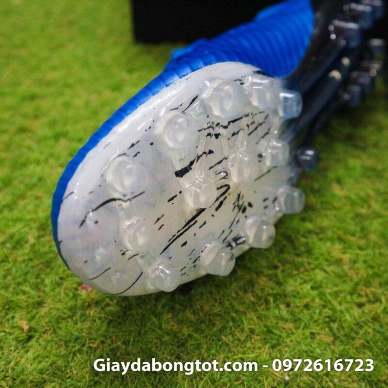 Giay adidas x19.1 ag xanh duong vach trang (5)