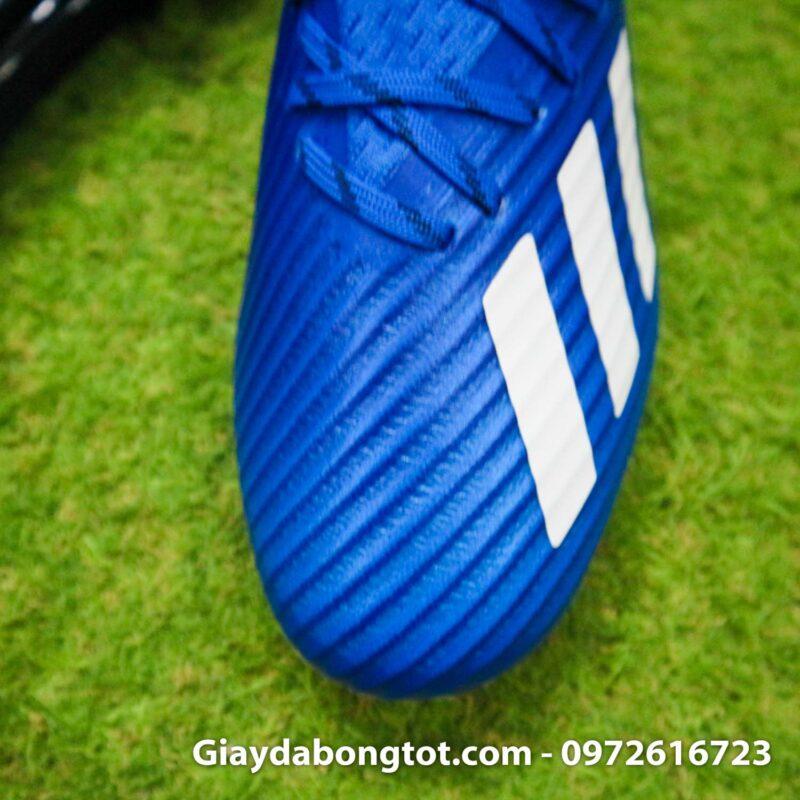 Giay adidas x19.1 ag xanh duong vach trang (6)