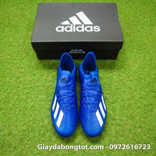 Giay adidas x19.1 ag xanh duong vach trang (7)