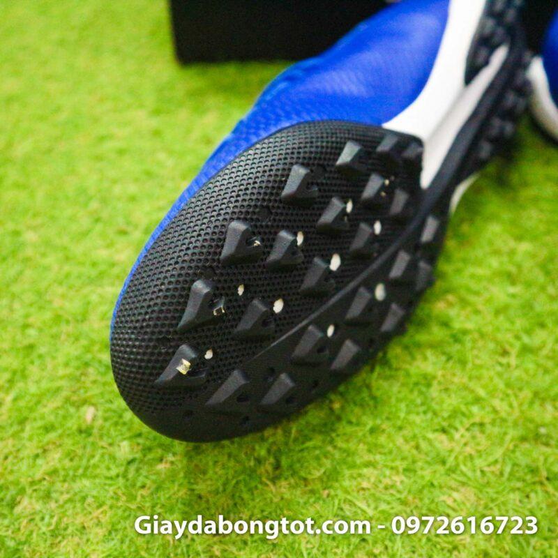 Giay da banh adidas x19.3 tf xanh duong dam vach trang (6)