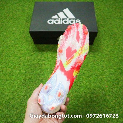 Giay da banh khong day adidas predator 20+ fg trang cam vach den (14)