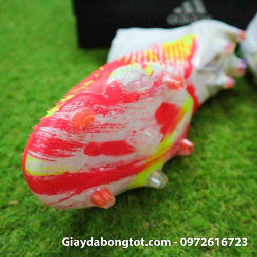 Giay da banh khong day adidas predator 20+ fg trang cam vach den (6)