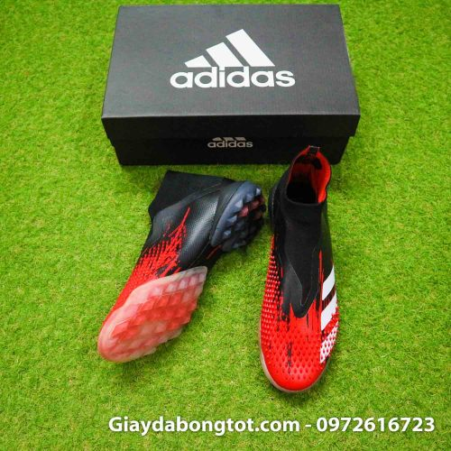 Giay da bong adidas predator 20+ tf den do gai nhon khong day (4)