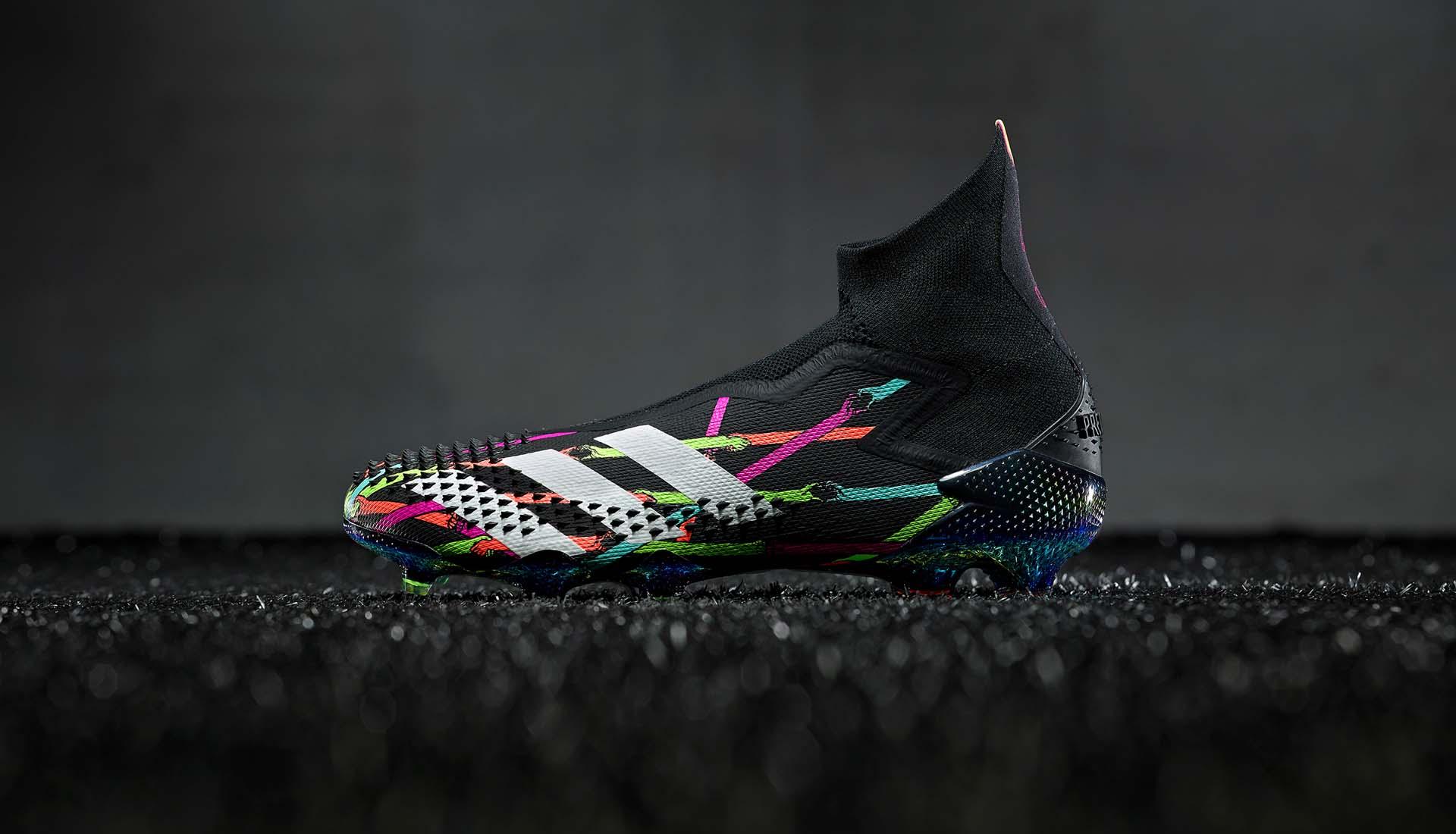 Adidas Predator Dangoor Reveal là sản phẩm được thiết kế với sự hợp tác giữa các nghệ sĩ và Adidas