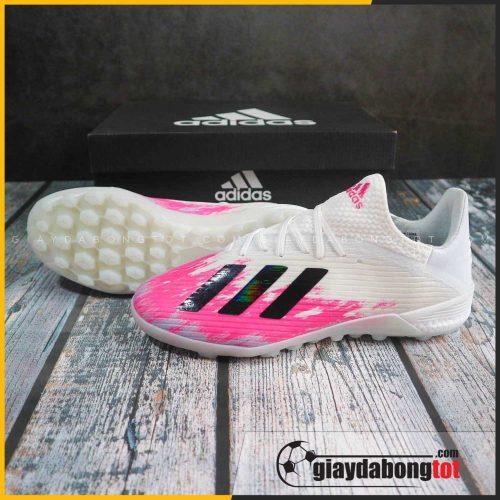 Adidas X19.1 TF trắng hồng | Bản mới, màu EURO 2020