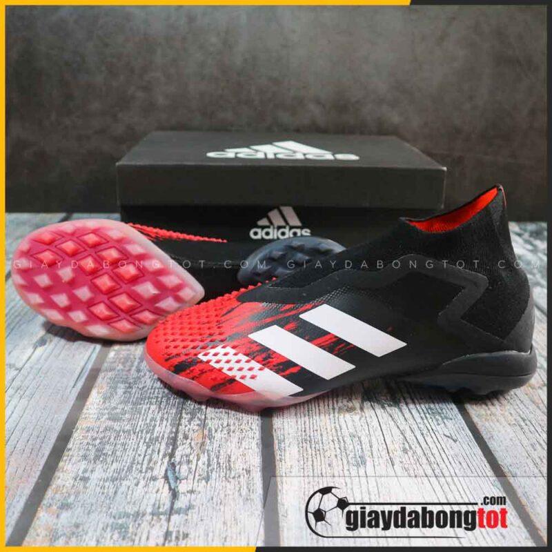 Giay da bong khong day adidas predator 20+ tf den do mutator pack superfake (2)