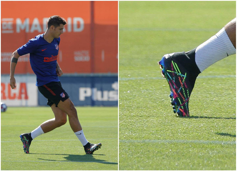 Morata sử dụng Adidas Predator 20+ FG phối màu Reuben Dangoor đẹp mắt