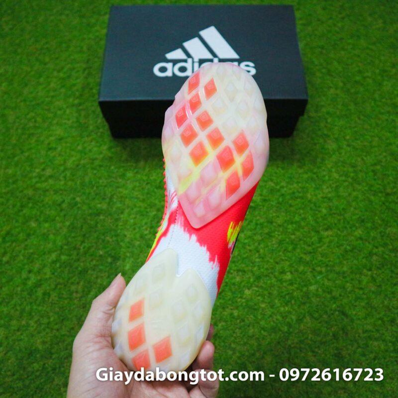 Giay san co nhan tao khong day adidas predator 20+ tf trang cam vach den (1)