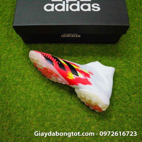 Giay san co nhan tao khong day adidas predator 20+ tf trang cam vach den (10)
