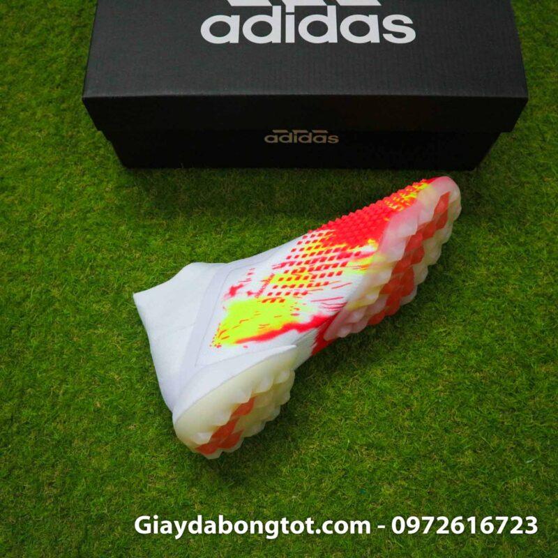 Giay san co nhan tao khong day adidas predator 20+ tf trang cam vach den (11)
