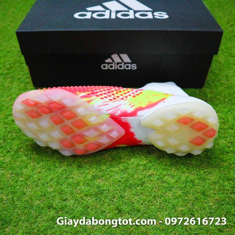 Giay san co nhan tao khong day adidas predator 20+ tf trang cam vach den (4)