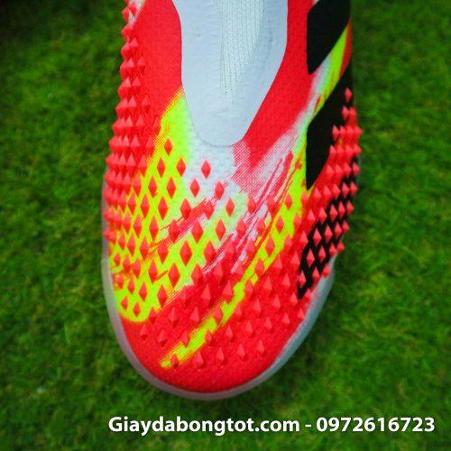 Giay san co nhan tao khong day adidas predator 20+ tf trang cam vach den (7)