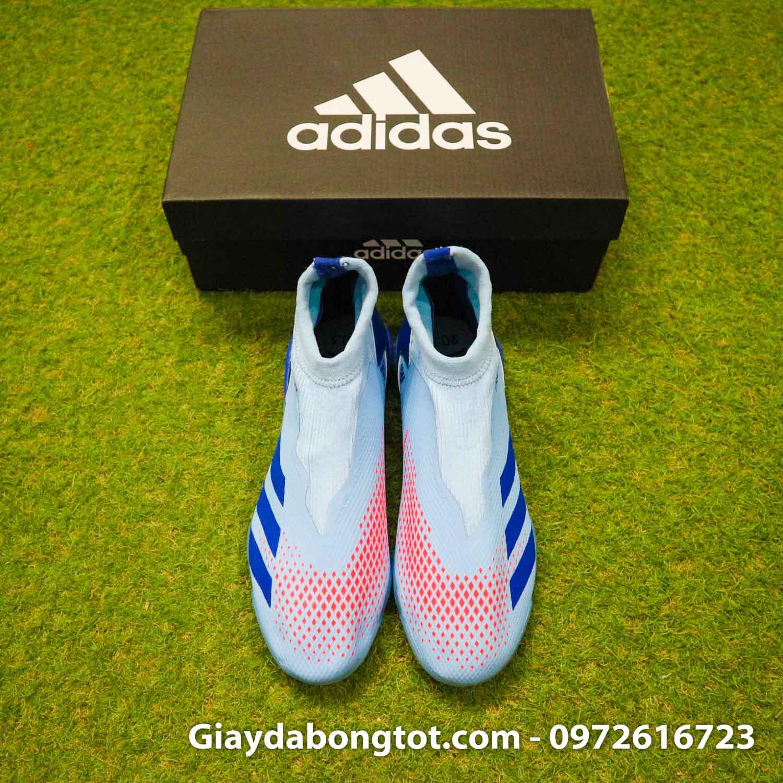 Giay san co nhan tao khong day adidas predator 20.3 tf xanh nhat (8)