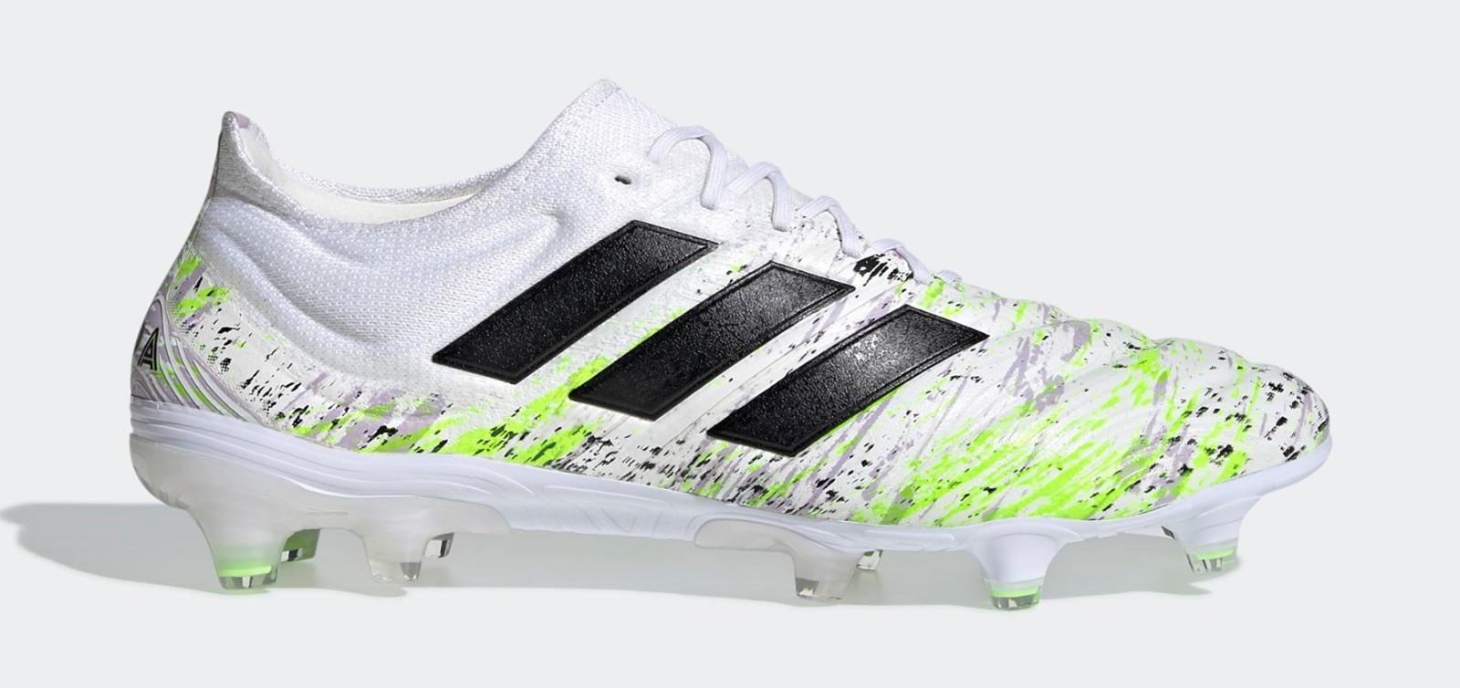 Thiết kế của giày đá banh Adidas Copa 19.1 bản có dây cũng rất đẹp mắt