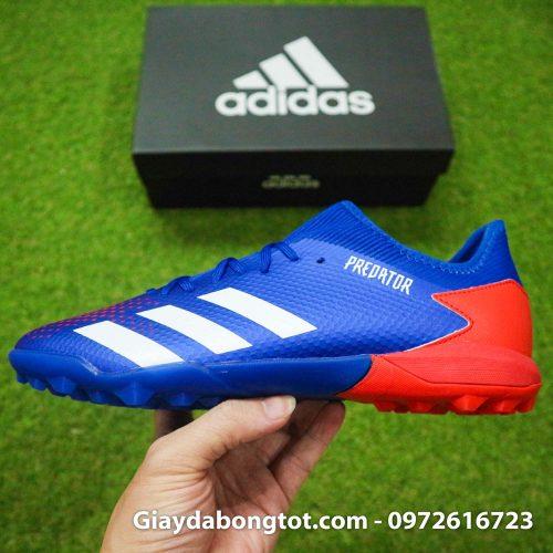 Adidas predator 20.3 tf xanh duong vach trang superfake co thap (12)
