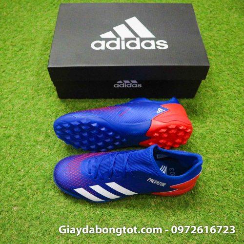 Adidas predator 20.3 tf xanh duong vach trang superfake co thap (2)