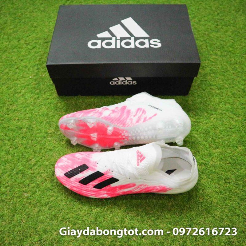 Adidas x19.1 fg hong trang euro 2020 superfake (2)